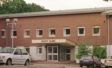 Scott Clinic Rainhill where Leslie Gadsby was being treated